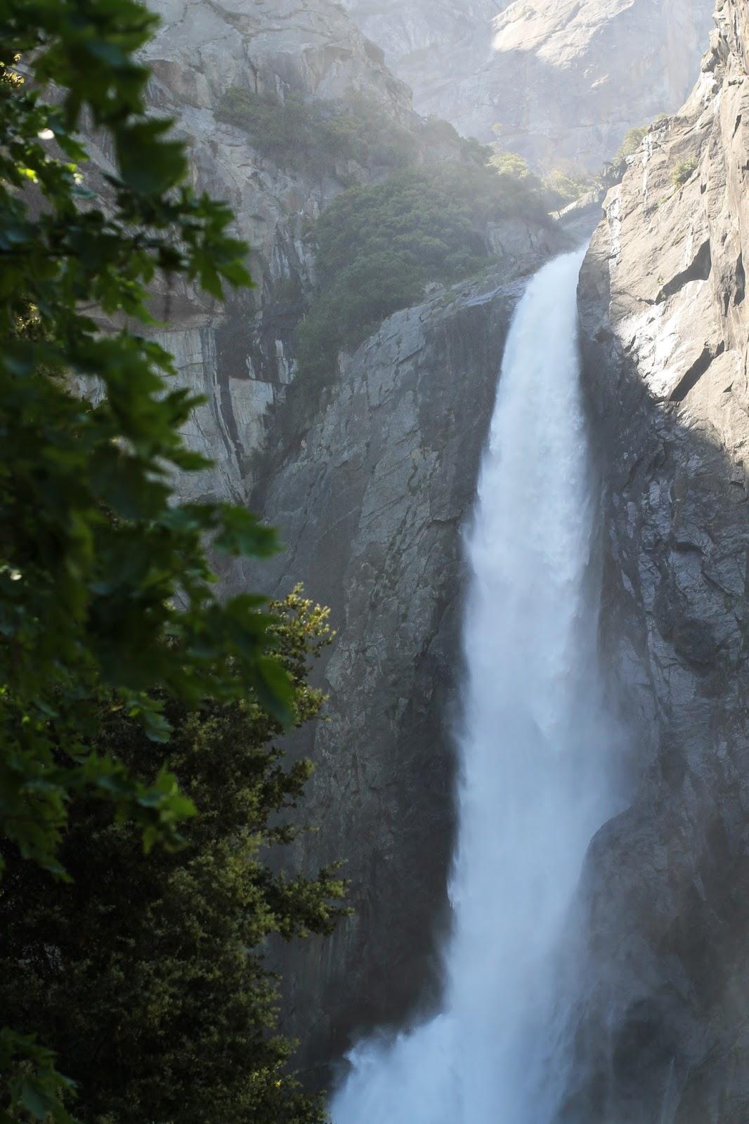Yosemite Vernal Falls Yosemite Falls Camping Shirts