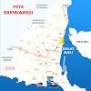 Peta Kabupaten Banyuwangi Lengkap 24 Kecamatan
