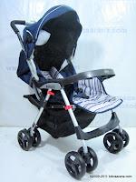 3 BabyElle S701 CetiLite Travel Stroller