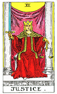 Arcano maior A Justiça VIII