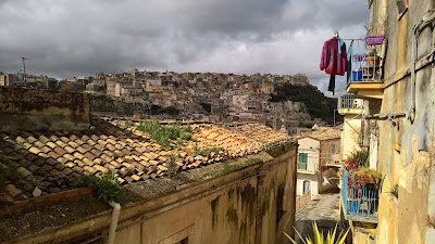 View of Ragusa Superiore from Ragusa Ibla.