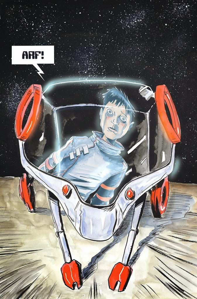 IMAGE COMICS: Descender #1 Variant Cover by Jeff Lemire