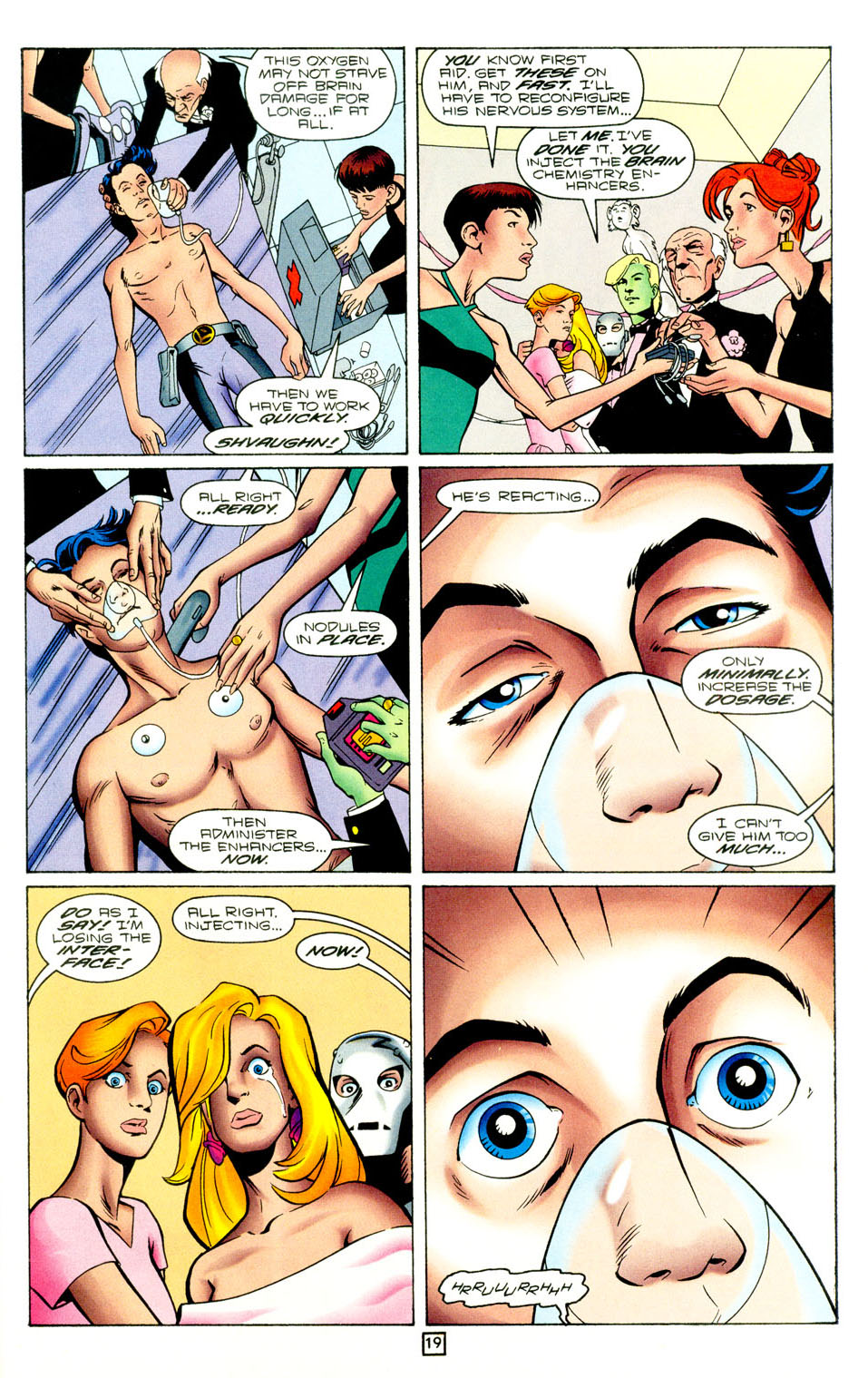 Legion of Super-Heroes (1989) 96 Page 19
