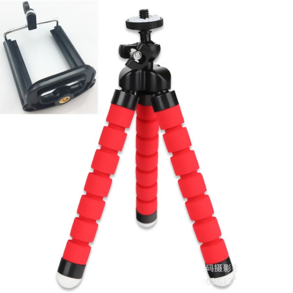 Mini Tripod for IPhone Mini Camera Tripod Phone Holder Clip Stand