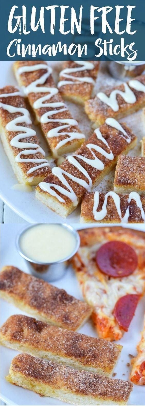 Gluten Free Cinnamon Sticks