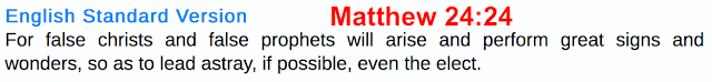 Matthew 24:24