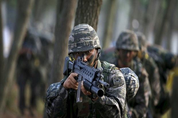 Antisipasi Militer Korut, Korsel Bentuk Pasukan Elite Spartan 3000