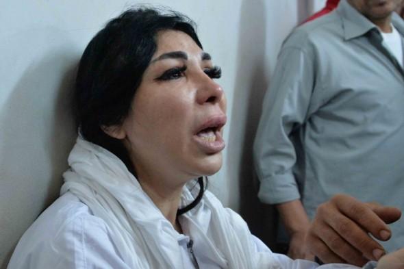تأييد الحكم علي ممثلة الدعارة غادة إبراهيم