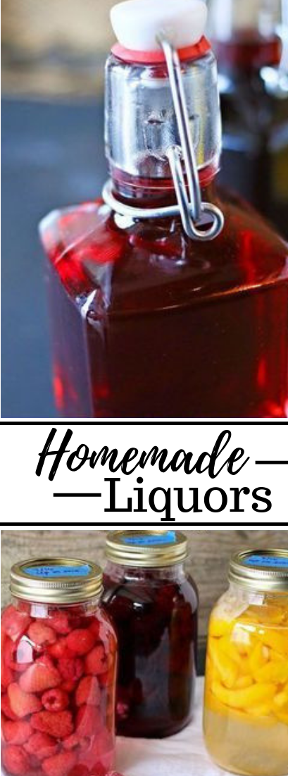 How to Make Homemade Liquors #drink
