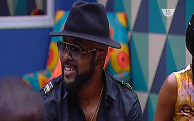 Banky W Visits The 2017 Big Brother Naija House To Motivate The Housemates