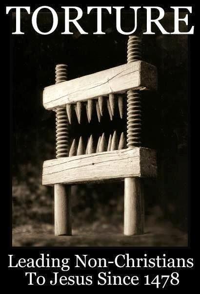 Christian Torture Evangelism Joke Picture