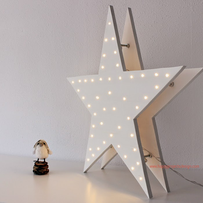 tutorial estrella de luces