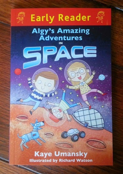 #algy's Amazing Adventures In Space Early Reader from Orion Books review