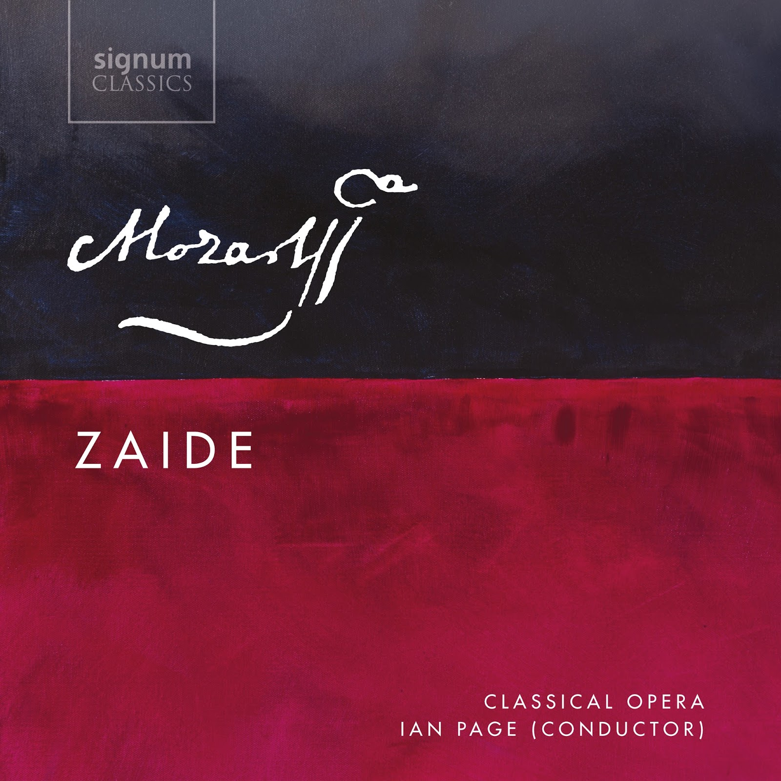 IN REVIEW: Wolfgang Amadeus Mozart - ZAIDE, K. 344 (Signum Classics SIGCD473)