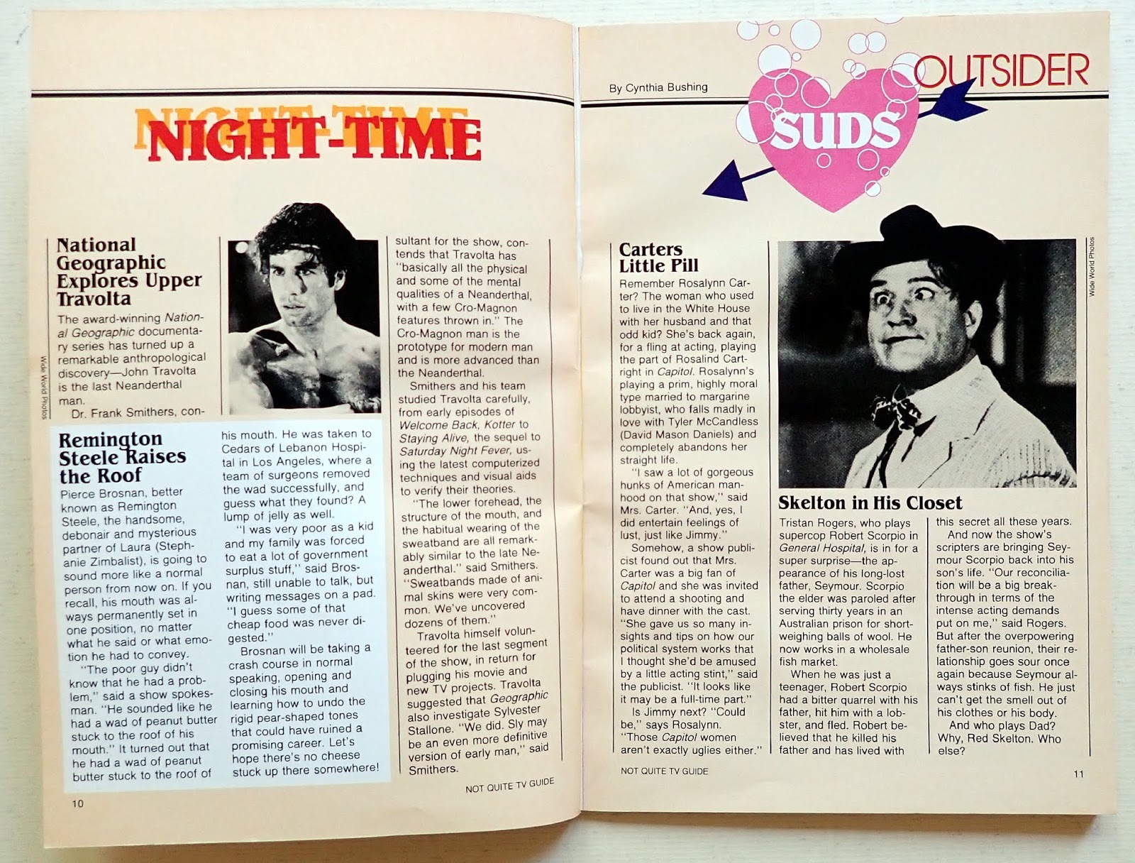 Past Print: Not quite TV Guide / 1983 paraody edition