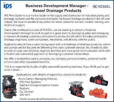 Business Development Manager - Kessel Drainage Products