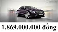 Giá xe Mercedes CLA 250