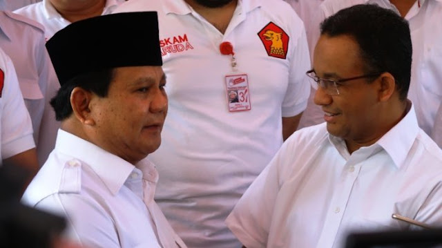 Gerindra: Anies Temui Prabowo Tanya Restu Maju Pilpres