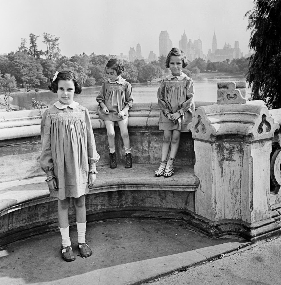 Central Park People: History In Photos: Roman Vishniac