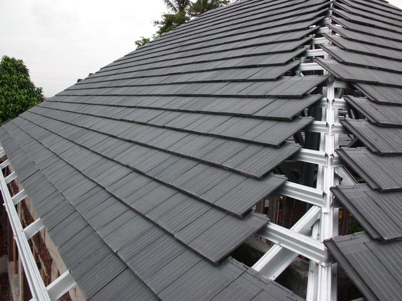 6 Macam Material Atap Rumah Modern  Garis Desain