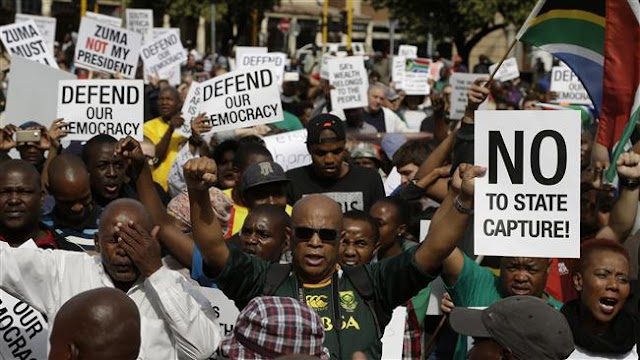 President Jacob Zuma describes protests in South Africa as 'racist'