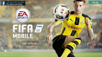 لعبة FIFA Mobile Soccer