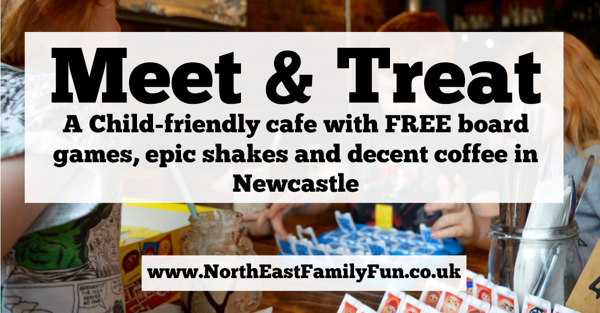 Meet and Treat Newcastle Cafe | A Perfect Spot for Pre-Theatre Drinks & Cakes with Kids for Tyne Theatre and Opera House
