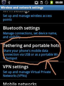 It Infrastructure Security Services Connect Internet In Pc Laptop Via Android Mobile With Usb