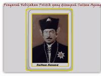 Pengaruh Kebijakan Politik yang ditempuh Sultan Agung