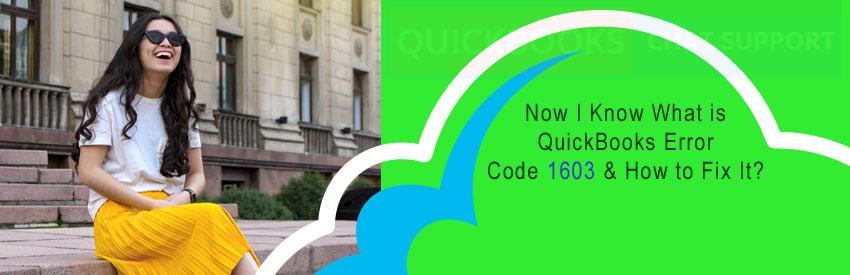What is QuickBooks Error Code 1603?