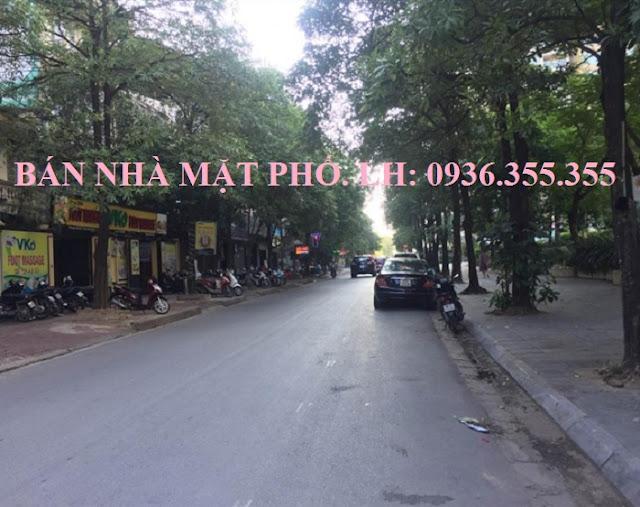 Bán nhà mặt phố Nguyễn Thị Thập, Hà Nội