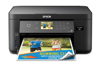 Epson Expression Home XP-5100 Small-in-One Printer Review - Free Download Driver