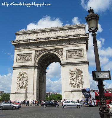 Arco de Triunfo. París