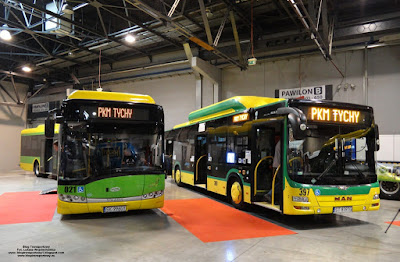 Solaris Urbino 18 LE CNG i MAN Lion`s City CNG, PKM Tychy