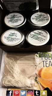 Full Leaf Tea Co, The Republic of Tea and Wild South Tea for Afternoon Tea Week