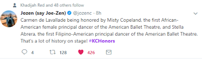 The Kennedy Center Honors #KCHonors 2017 @jozenc tweet