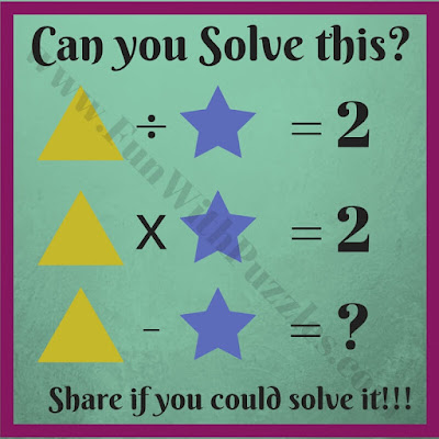 Maths puzzle quiz for kids