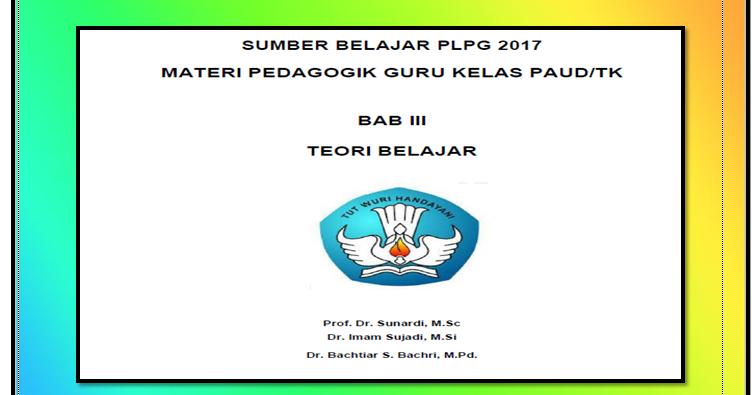 Materi PLPG Kompetensi Pedagogik dan Profesional Guru PAUD TK RA -  GaleriKurikulum2013 92602067373f7