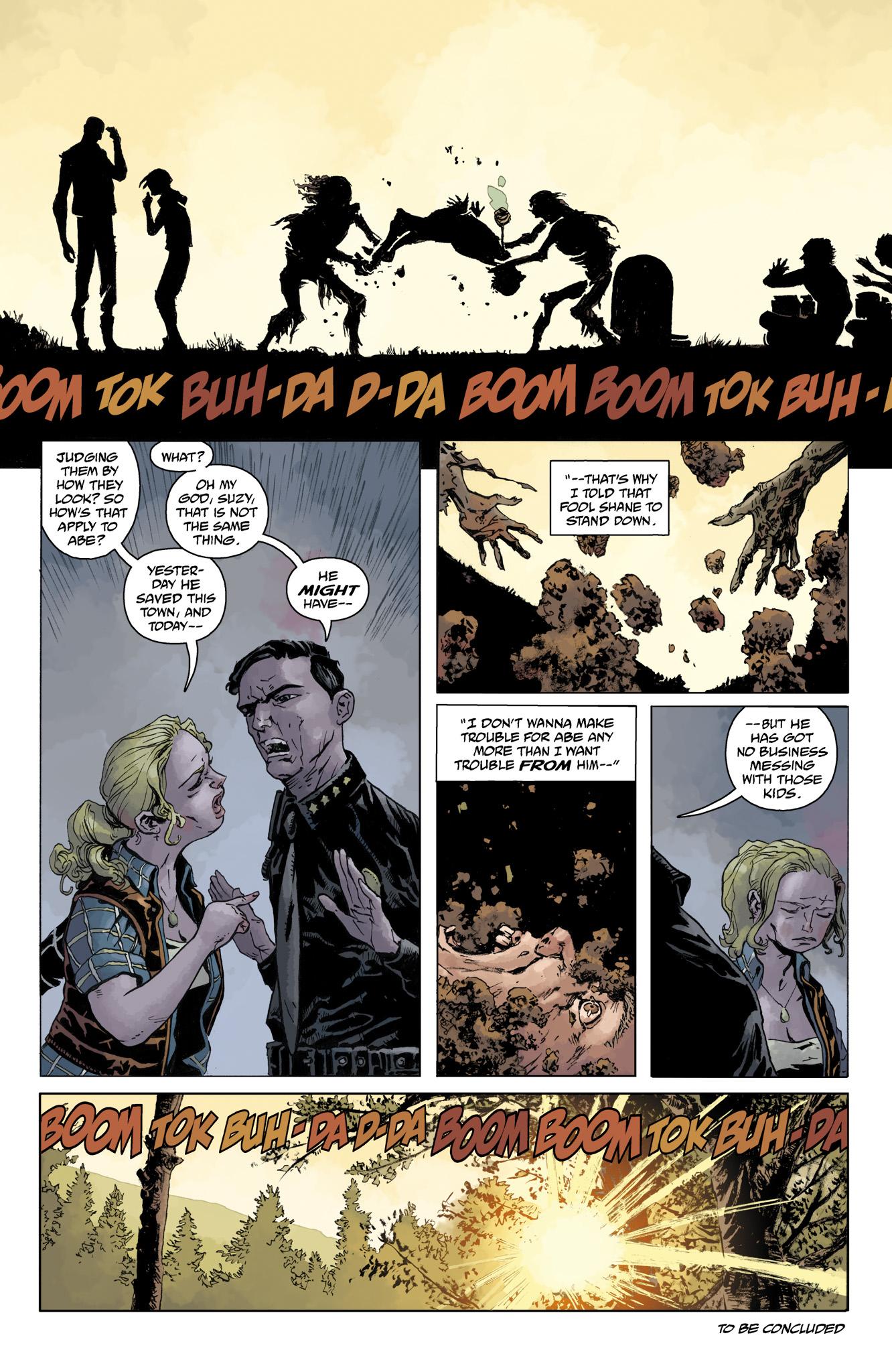 Read online Abe Sapien comic -  Issue #10 - 26