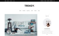 Trendy adalah Template Blogger Minimal Responsif yang Bersih, cerah, dan berkelas. Ini memiliki tata letak minimalis yang berfokus pada kesederhanaan dan keterbacaan.
