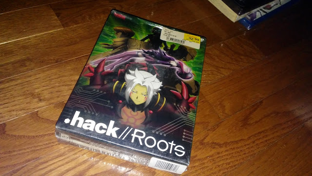 RightStuf Anime Review $10 Blind box - .Hack//Roots Collector's dvd
