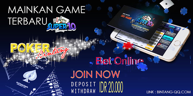 Game Terbaru Itu Bernama Super10  Hadir Eklusif Di PokerBintang
