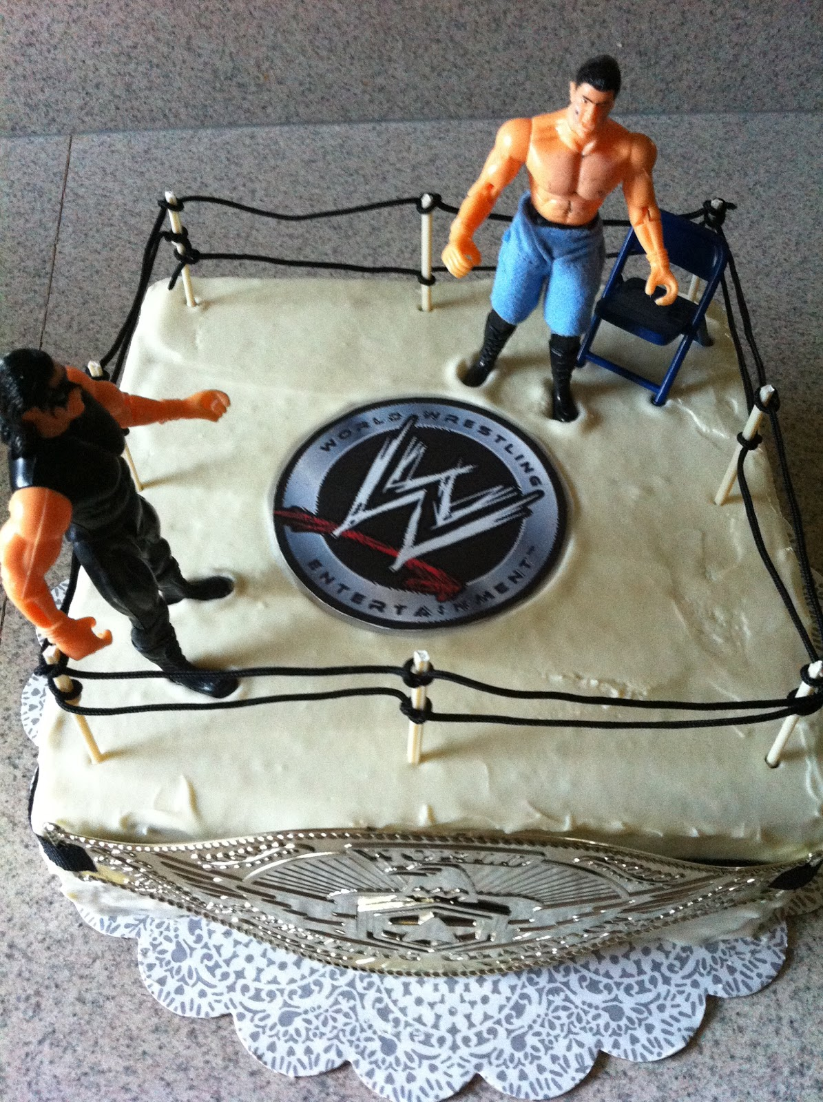 Free Cakes For Kids Killeen Our 32nd Cake Wwe Amp John