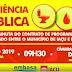 EMBASA e Prefeitura de Iaçu, convidam toda população a participarem da Audiência Pública, que será realizada às 09h30, na Câmara de Vereadores em Iaçu, nesta quarta(22)