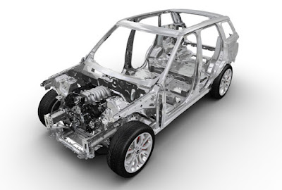 Khung gầm Range Rover Sport