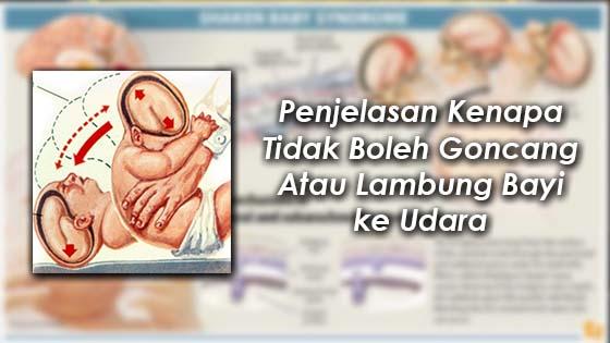 Jangan Goncang Atau Lambung Bayi ke Udara