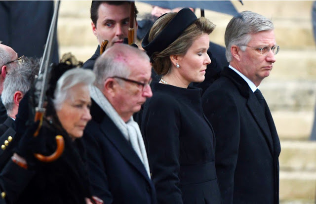 Queen Mathilde of Belgium, Princess Eleonore, Prince Gabriel, Crown Princess Elisabeth and Prince Emmanuel