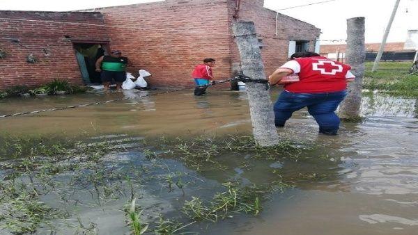 Inician operativo de emergencia por inundaciones en Argentina