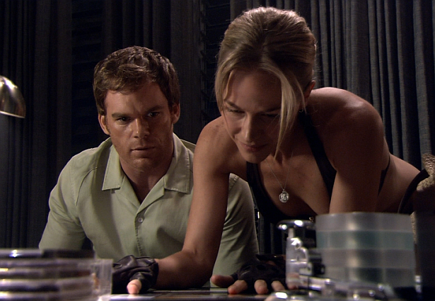 Dexter Daily: Michael C. Hall On Working With Julie Benz ...