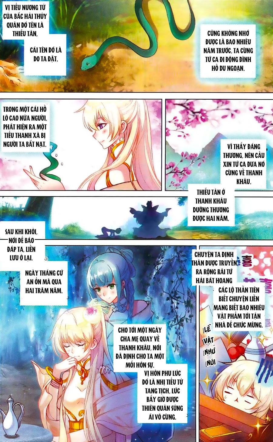 Tam Sinh Tam Thế - Thập Lý Đào Hoa Chap 4